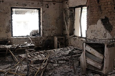Destroyed: Kunduz hospital