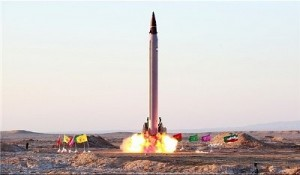 Iranian Emad missile. Click to enlarge