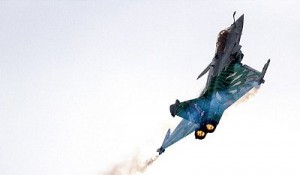 Russian jet hits militants position in Syria. Click to enlarge