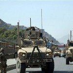 US troops working alongside NATO forces in Kabul. Click to enlarge