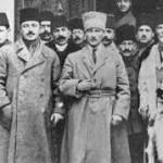 Kemal Ataturk, making Masonic sign, and the crypto Jews  called Donmeh who control Turkey