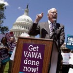 Sen Patrick Leahy of Vermont helped pass VAWA, Violence against Women Act that destabilizes and destroys marriages