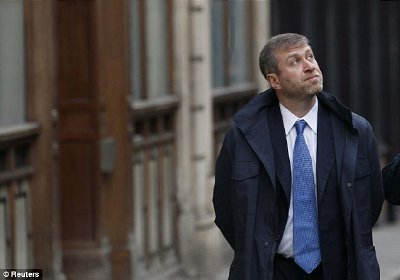 Former London resident and multi-billionaire Roman Abramovich. Click to enlarge