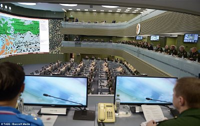 Russian National Defence Control Center. Click to enlarge