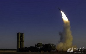 S-300 launch. Click to enlarge