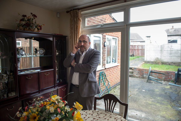 Rami Abdul Rahman reports on the crisis in Syria from his house in Coventry, England. Click to enlarge