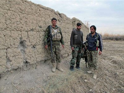 Afghan Security forces defeated by Taliban fighters in southern Helmand province. Click to enlarge