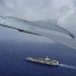Artist' impression of that the next generation of laser armed U.S. fighter may look like. Click to enlarge