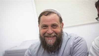 Leader of the far-right Israeli group Lehava, Benzi Gopstein