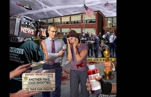 David Dees: Another fake mass shooting. Click to enlarge
