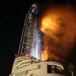 Dubai Skyscpare blaze. Click to enlarge