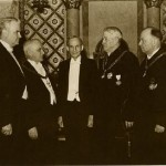 In 1940, when the Northern Masonic Jurisdiction's Supreme Council conferred the Thirty-Third degree on him at age 77, Henry Ford (1863-1947) had been a Mason for 46 years, having been raised in Detroit's Palestine Lodge No. 357 in 1894 at age 31.
