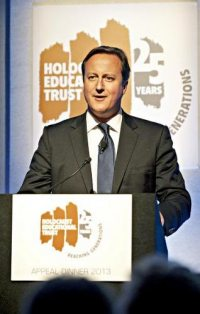 Cameron and the Holocaust