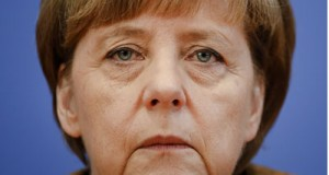 German Chancellor Angela Merkel attends a news conference in Berlin July 18, 2014. Click to enlarge