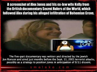 Alex Jones and ex-wife. Click to enlarge