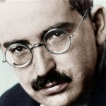 Influential critic Walter Benjamin, 1892-1940. Click to enlarge