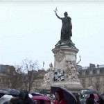 Thousands March in Paris Rain to Protest State of Emergency