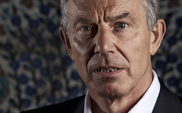 Various - 2011...Mandatory Credit: Photo by Matt LLoyd/REX (1292205n)  Middle East Peace Envoy and former British Prime Minister Tony Blair speaks to The Times in Jerusalem about the current situation in Libya, and his relationship with Colonel Gaddafi.  Various - 2011