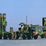 China is thought HQ-9 ground-to-air missiles to an island in the South China Sea.