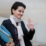 French Education Minister Najat Vallaud-Belkacem. Click to enlarge