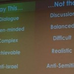 Slides from a secret Israeli government conference on how to promote Israel abroad. Click to enlarge