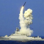 Zelyony Dol fires a Kalibir cruise missile
