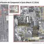 Aerial photo of Russian airbase in Latakia, Syria. Click to enlarge