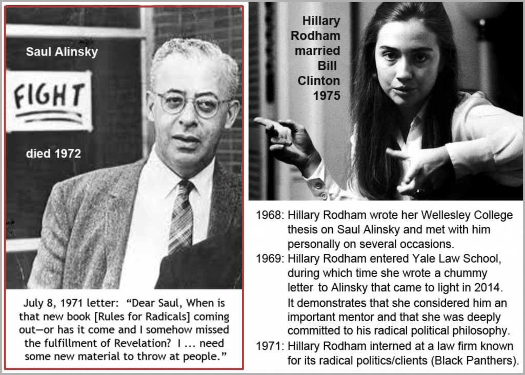 Alinsky Clinton. click to enlarge