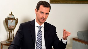 President Assad. Click to enlarge