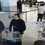 CCTV footage shows suspected third bomber, far right. Click to enlarge
