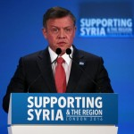 Jordan's King Abdullah. Click to enlarge
