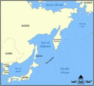 Kuril islands. Click to enlarge