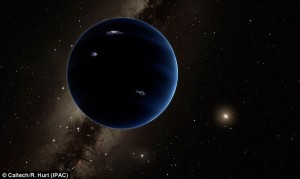 Evidence was discovered at the beginning of this year for a mysterious 'Planet Nine' (artist's impression shown), and since then it has had scientists looking for signs that could confirm its existence. As evidence for a ninth planet in our solar system grows, a 30-year old theory about mass extinctions on Earth is resurfacing.