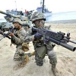 South Korean-U.S. military drills. Click to enlarge