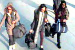 Three young British girls thought to have joined Islamic State. Click to enlarge