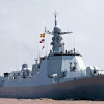 Chinese Type 052D destroyer