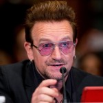 Bono called on the US Congress to take action on the global refugee crisis Tuesday