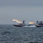 IRGC powerboats. click to enlarge
