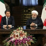 Italian Prime Minister Matteo Renzi and Iranian President Rhouhani host joint press conference in Tehran