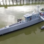 US military christens self-driving Sea Hunter warship