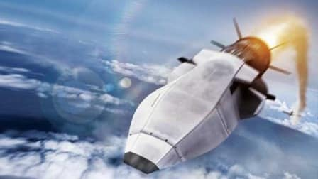 Artists impression of the hypersonic Zircon missle. Click to enlarge