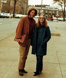 Bill and Hillary Clinton at Yale in 1973