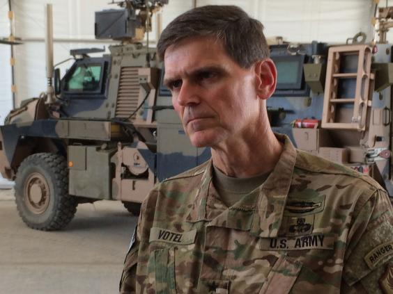US Army General Joseph Votel. Click to enlarge