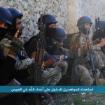 Fighters from the Syrian Jabhat al-Nusra