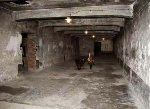 For over 50 years, the staff at Auschwitz told visitors that the Auschwitz main camp gas chamber was original. Now it is admitted that the gas chamber is a reconstruction. The staff at Auschwitz had been lying to the public for half a century. Click to enlarge
