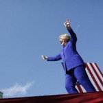 Hillary Clinton claims historic victory in Democratic White House race