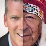 There's no such thing as WHITE people... we are all people of color, and I'm a red-skinned American Indian (seriously)