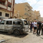 Last weekend's suicide bomb attack in Qamishli took place during an event commemorating the massacre of Christians more than a century ago. Click to enlarge