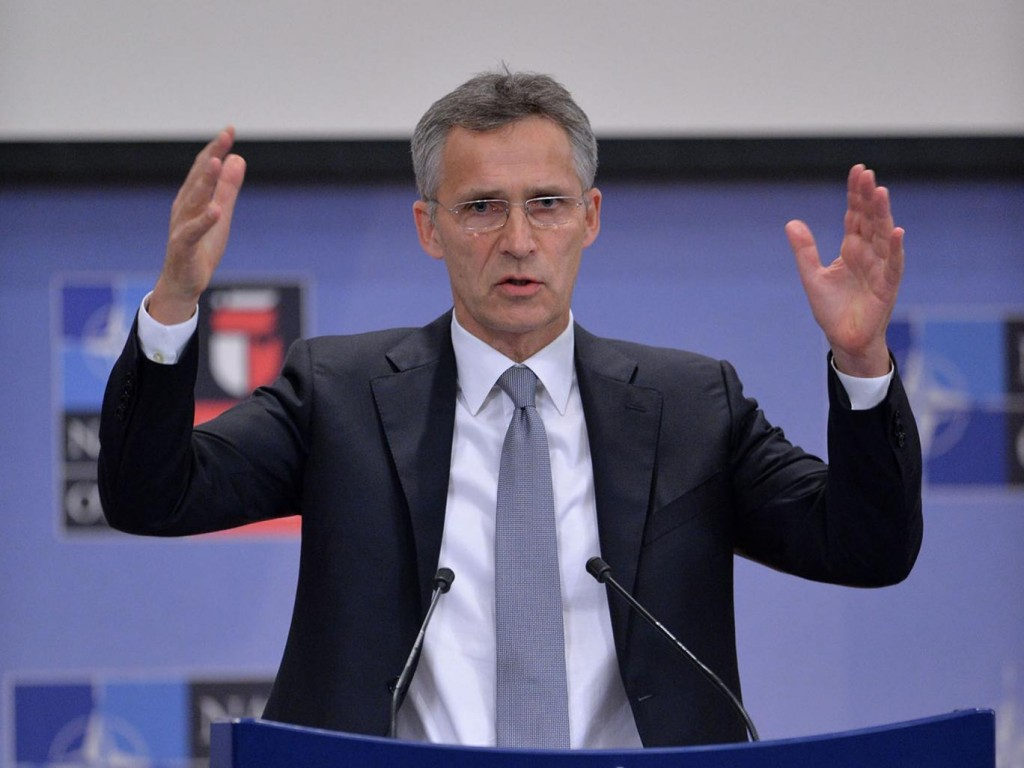 Nato Secretary General Jens Stoltenburg. Click to enlarge