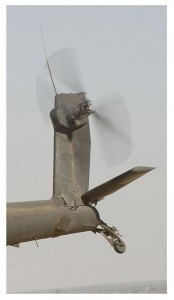 Helicopter rotor blade. Click to enlarge